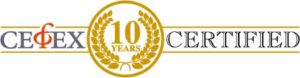 CEFEX 10 year certification