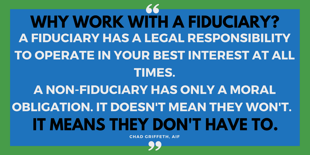 Why work with a fiduciary