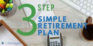 3 Step Simple Retirement Plan - Twitter